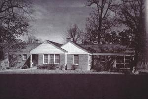 Primary view of object titled '[Florence Robinson Cottage]'.