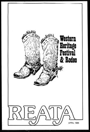 Primary view of object titled 'Reata (Abilene, Tex.), April 1985'.