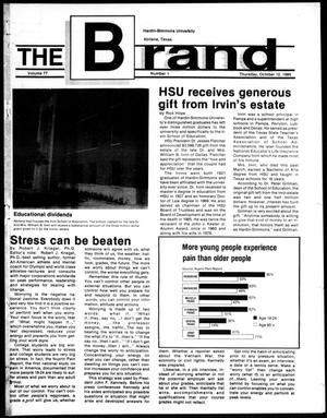 Primary view of object titled 'The Brand (Abilene, Tex.), Vol. 77, No. 1, Ed. 1, Thursday, October 12, 1989'.