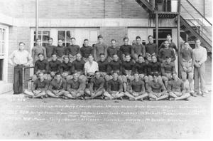 Primary view of object titled 'Yoe High School Football Team'.