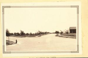 Primary view of object titled '[Wolflin Park, (Looking East)]'.