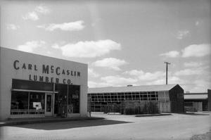 [Exterior of the Carl McCaslin Lumber Company]