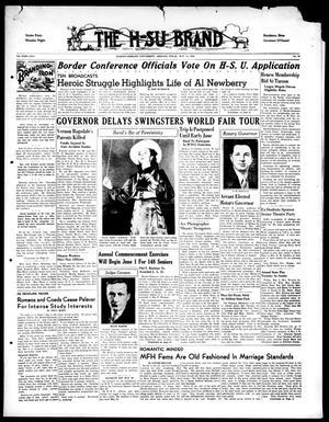 Primary view of The H-SU Brand (Abilene, Tex.), Vol. 23, No. 30, Ed. 1, Saturday, May 13, 1939