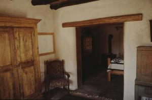 Primary view of object titled '[Faver Ranch - Morita, (cottage interior view)]'.