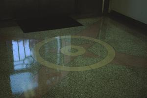 Primary view of object titled '[Tyler City Hall, (terrazzo floor)]'.