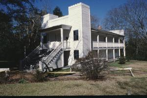 Primary view of object titled '[Steamboat House/ Sam Houston's Home]'.