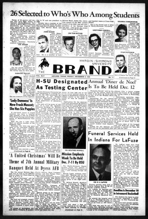 Primary view of object titled 'The Brand (Abilene, Tex.), Vol. 45, No. 11, Ed. 1, Friday, December 4, 1959'.