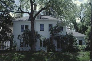 Primary view of object titled '[Ramey Granger House, (view facing south showing North Elevation)]'.