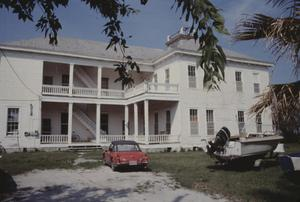 Primary view of object titled '[J.W. Wood House, (house facing Copano Bay)]'.