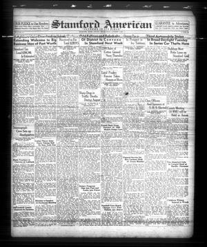 Primary view of object titled 'Stamford American (Stamford, Tex.), Vol. 15, No. 28, Ed. 1 Friday, October 7, 1938'.