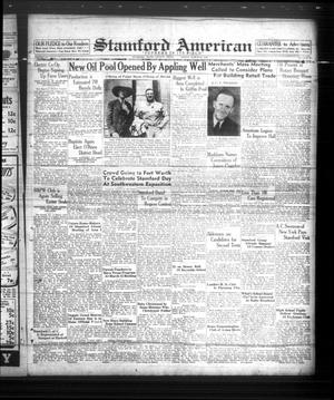 Primary view of object titled 'Stamford American (Stamford, Tex.), Vol. 15, No. 50, Ed. 1 Friday, March 10, 1939'.