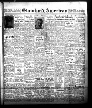Primary view of object titled 'Stamford American (Stamford, Tex.), Vol. 20, No. 36, Ed. 1 Friday, November 26, 1943'.