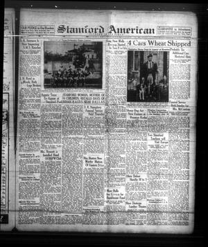 Primary view of object titled 'Stamford American (Stamford, Tex.), Vol. 15, No. 11, Ed. 1 Friday, June 10, 1938'.