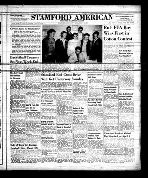 Primary view of object titled 'Stamford American and The Stamford Leader (Stamford, Tex.), Vol. 34, No. 2, Ed. 1 Thursday, March 14, 1957'.