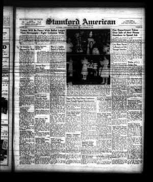 Primary view of object titled 'Stamford American (Stamford, Tex.), Vol. 25, No. 33, Ed. 1 Friday, October 29, 1948'.