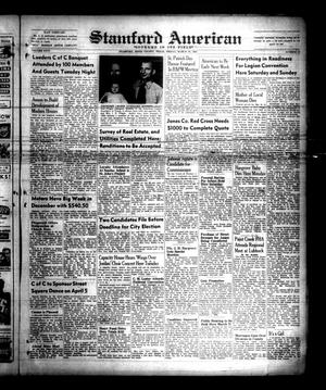 Primary view of object titled 'Stamford American (Stamford, Tex.), Vol. 26, No. 52, Ed. 1 Friday, March 10, 1950'.