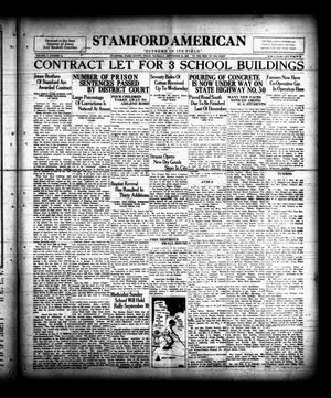 Primary view of object titled 'Stamford American (Stamford, Tex.), Vol. 5, No. 23, Ed. 1 Thursday, September 20, 1928'.