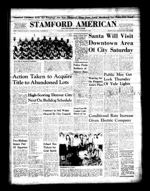 Primary view of object titled 'Stamford American and The Stamford Leader (Stamford, Tex.), Vol. 36, No. 40, Ed. 1 Thursday, December 3, 1959'.