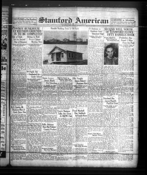 Primary view of object titled 'Stamford American (Stamford, Tex.), Vol. 15, No. [9], Ed. 1 Friday, May 27, 1938'.