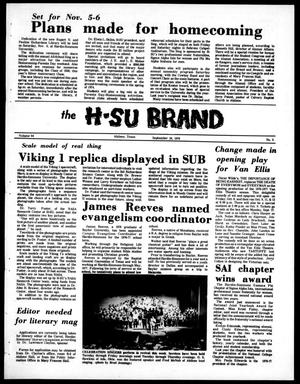 Primary view of object titled 'The H-SU Brand (Abilene, Tex.), Vol. 64, No. 5, Ed. 1, Friday, September 24, 1976'.