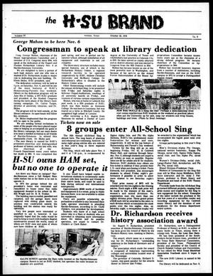 The H-SU Brand (Abilene, Tex.), Vol. 64, No. 9, Ed. 1, Friday, October 22, 1976