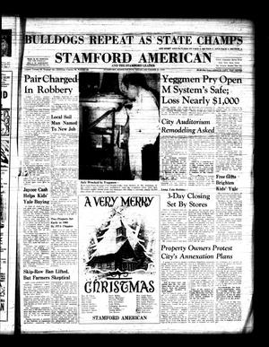 Primary view of object titled 'Stamford American and The Stamford Leader (Stamford, Tex.), Vol. 36, No. 43, Ed. 1 Thursday, December 24, 1959'.