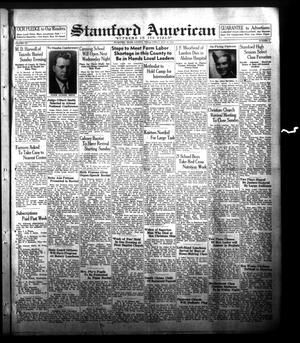 Primary view of object titled 'Stamford American (Stamford, Tex.), Vol. 20, No. 9, Ed. 1 Friday, May 21, 1943'.