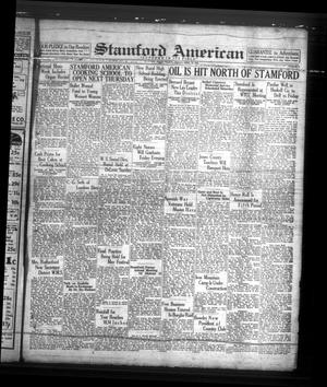 Primary view of object titled 'Stamford American (Stamford, Tex.), Vol. 15, No. 5, Ed. 1 Friday, April 29, 1938'.