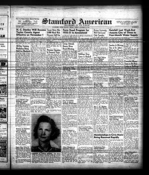 Primary view of object titled 'Stamford American (Stamford, Tex.), Vol. 25, No. 31, Ed. 1 Friday, October 15, 1948'.