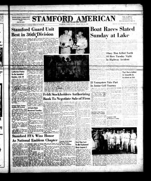 Primary view of object titled 'Stamford American and The Stamford Leader (Stamford, Tex.), Vol. 34, No. 21, Ed. 1 Thursday, July 25, 1957'.