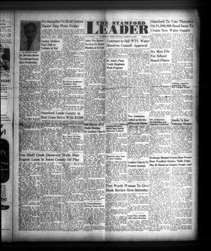 Primary view of object titled 'The Stamford Leader (Stamford, Tex.), Vol. 28, No. 28, Ed. 1 Monday, March 19, 1951'.