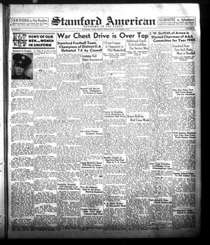 Primary view of object titled 'Stamford American (Stamford, Tex.), Vol. 20, No. 37, Ed. 1 Friday, December 3, 1943'.