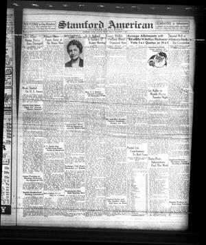 Primary view of object titled 'Stamford American (Stamford, Tex.), Vol. 15, No. 37, Ed. 1 Friday, December 9, 1938'.