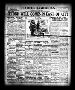 Primary view of Stamford American (Stamford, Tex.), Vol. 5, No. 38, Ed. 1 Thursday, January 3, 1929