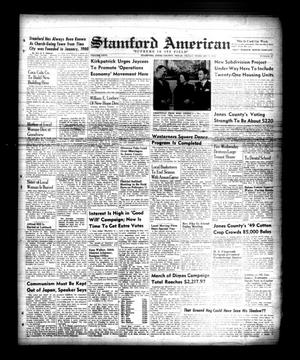 Primary view of object titled 'Stamford American (Stamford, Tex.), Vol. 26, No. 47, Ed. 1 Friday, February 3, 1950'.