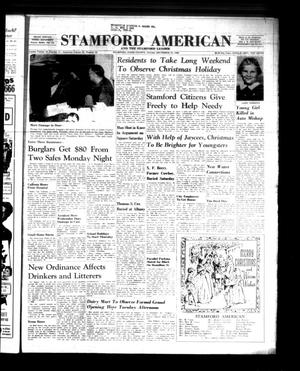 Primary view of object titled 'Stamford American and The Stamford Leader (Stamford, Tex.), Vol. 37, No. 43, Ed. 1 Thursday, December 22, 1960'.