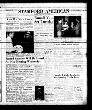 Primary view of object titled 'Stamford American and The Stamford Leader (Stamford, Tex.), Vol. 34, No. 6, Ed. 1 Thursday, April 11, 1957'.