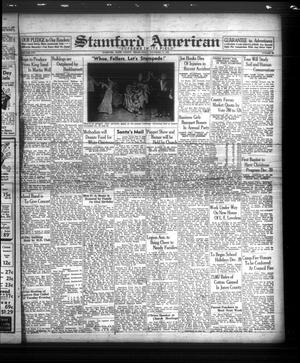Primary view of object titled 'Stamford American (Stamford, Tex.), Vol. 16, No. 38, Ed. 1 Friday, December 15, 1939'.