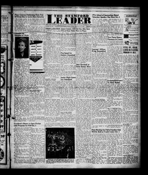 Primary view of object titled 'The Stamford Leader (Stamford, Tex.), Vol. 47, No. 2, Ed. 1 Friday, September 26, 1947'.