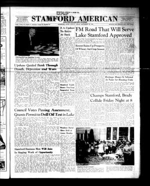 Primary view of object titled 'Stamford American and The Stamford Leader (Stamford, Tex.), Vol. 37, No. 31, Ed. 1 Thursday, September 29, 1960'.