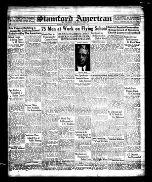 Primary view of object titled 'Stamford American (Stamford, Tex.), Vol. 17, No. 50, Ed. 1 Friday, March 7, 1941'.