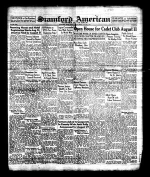 Primary view of object titled 'Stamford American (Stamford, Tex.), Vol. 18, No. 20, Ed. 1 Friday, August 7, 1942'.