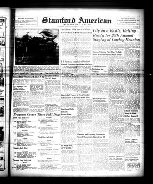 Primary view of object titled 'Stamford American (Stamford, Tex.), Vol. 27, No. 16, Ed. 1 Friday, June 30, 1950'.