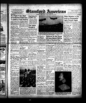 Primary view of object titled 'Stamford American (Stamford, Tex.), Vol. 26, No. 19, Ed. 1 Friday, July 22, 1949'.