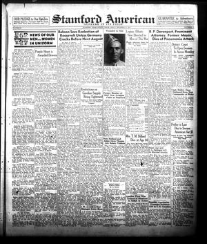 Primary view of Stamford American (Stamford, Tex.), Vol. 20, No. 41, Ed. 1 Friday, December 31, 1943