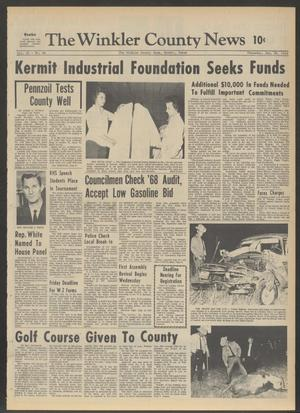 Primary view of object titled 'The Winkler County News (Kermit, Tex.), Vol. 32, No. 88, Ed. 1 Thursday, January 30, 1969'.