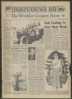 Primary view of object titled 'The Winkler County News (Kermit, Tex.), Vol. 35, No. 27, Ed. 1 Thursday, July 3, 1969'.