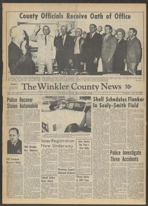 Primary view of object titled 'The Winkler County News (Kermit, Tex.), Vol. 32, No. 80, Ed. 1 Thursday, January 2, 1969'.