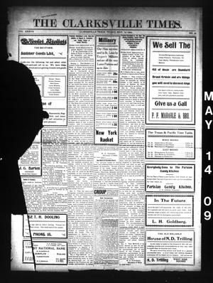 Primary view of object titled 'The Clarksville Times. (Clarksville, Tex.), Vol. 37, No. 39, Ed. 1 Friday, May 14, 1909'.
