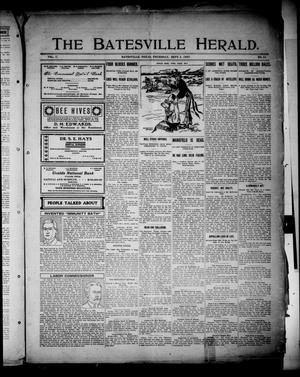 Primary view of object titled 'The Batesville Herald. (Batesville, Tex.), Vol. 7, No. 35, Ed. 1 Thursday, September 5, 1907'.